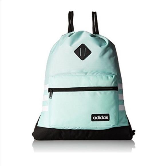 adidas Bags   Classic 3s Sackpack Nwt   Poshmark 17949b54a2